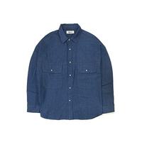 Big Pocket Denim Shirt
