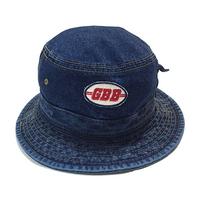 GBB Denim Bucket Hat (dark blue)