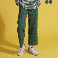 Alternate Check Wide Pants(2color)(unisex)