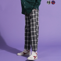 Friendly Check Wide Pants(2color)(unisex)