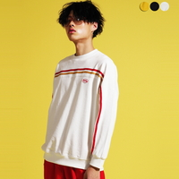 Three colors Striped Sweat shirt(3color)(unisex)