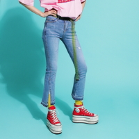 Slit Boot-cut Jeans(여성용)(girls)