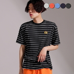 G Stripe Half Sleeve T-shirt(5color)(unisex)