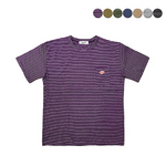 Patch Pocket Stripe T-shirt(7color)(unisex)