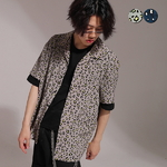 Leopard Overfit Open Shirts(2color)(unisex)
