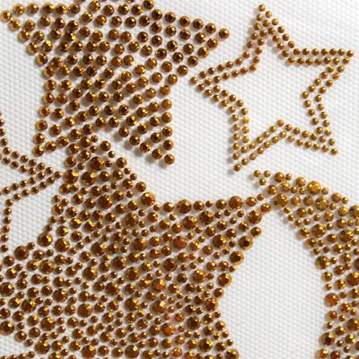 핫픽스 모티브 디자인 별데코 Stars Gold