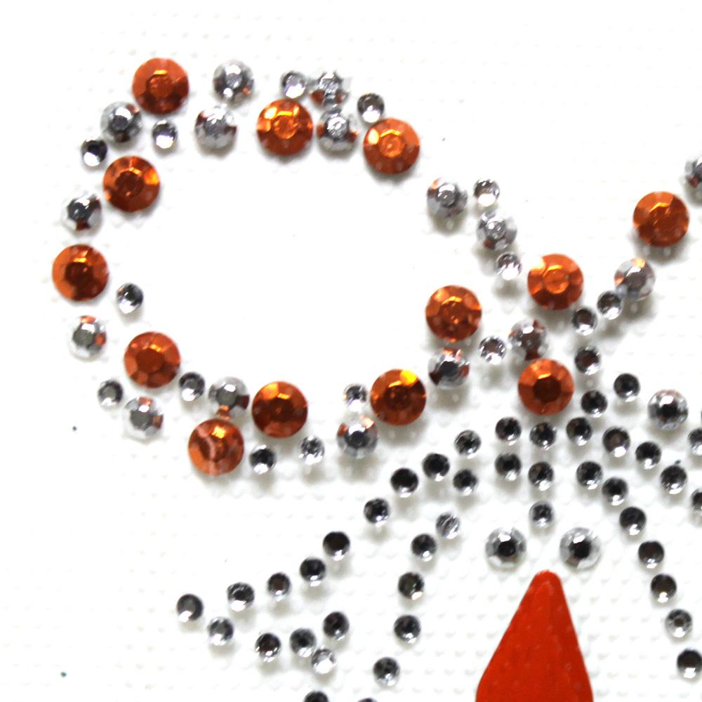 핫픽스 모티브 디자인 미니 리본 orange - 투맨, 3,800원, 스티커, 디자인스티커