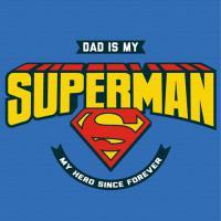 DIY명화그리기 슈퍼맨-Dad is my superman 물감2배