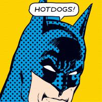 DIY명화그리기세트 배트맨 - HOT DOGS!