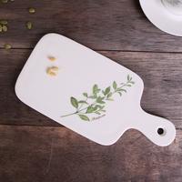 그린테이블 마조람 디저트 도마 접시 1p
