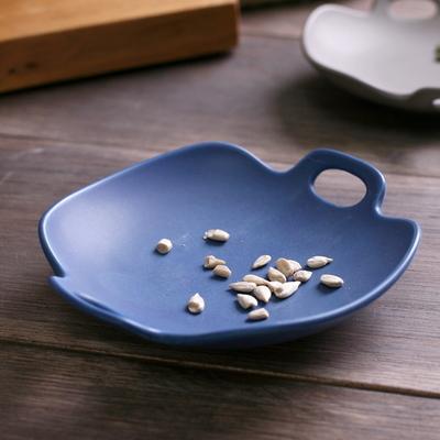 까사밀라 아사 작은 접시 2p(블루+그레이)
