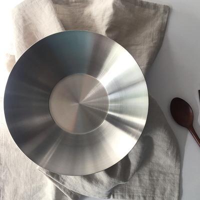 로푸드 테이블 스텐 샐러드 파스타접시 16cm(S)