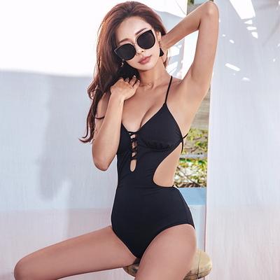 스파이더 모노키니 수영복
