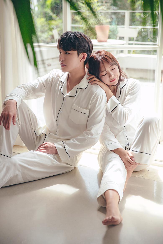로망스 커플 잠옷세트 이지웨어 홈웨어 - 로로걸, 18,900원, 잠옷, 커플파자마