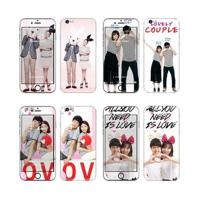 LG G7 ThinQ 주문제작 휴대폰스킨 보호필름 2매