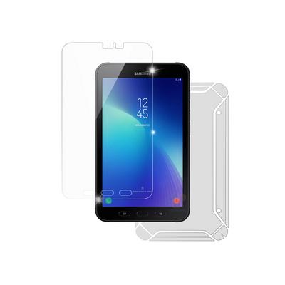 삼성 갤럭시탭 액티브2 LTE 고광택강화 액정보호필름+후면 보호필름