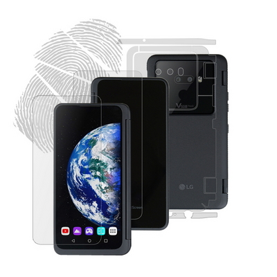 LG V50S ThinQ 듀얼스크린 지문방지 액정+후면+전신외부보호필름 각 2매