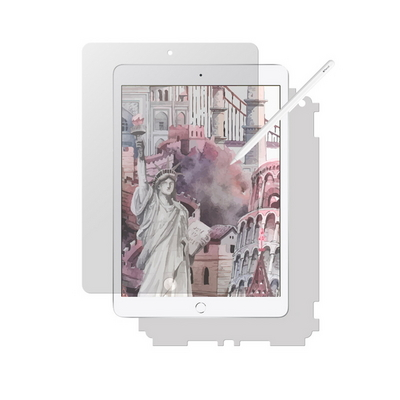 아이패드 10.2 7세대 종이질감 저반사 액정보호필름+후면 보호필름