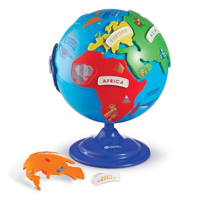 LER7735  지구본 퍼즐/유아용지구본