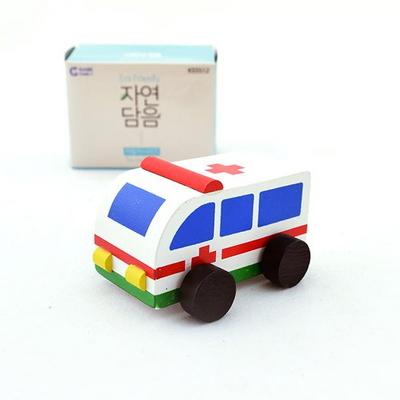 (가베가족)KS5512 자연담음 자동차시리즈 구급차
