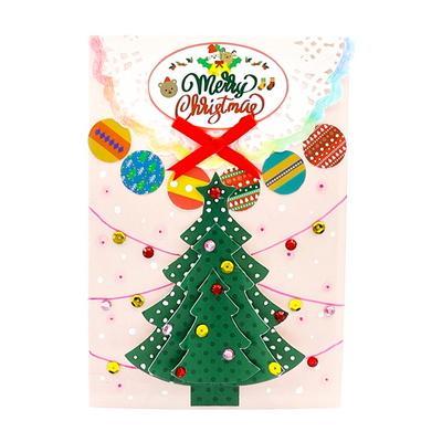 (몽스쿨)KY2008 크리스마스카드 트리트리(4set)