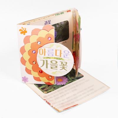 (몽스쿨) KY2077 아름다운 가을꽃 북아트