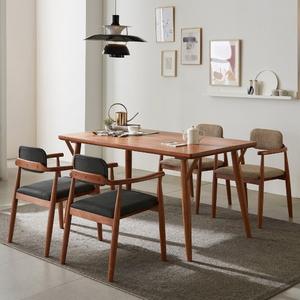 리치 4-6인용 원목 식탁테이블 1500세트(의자포함)