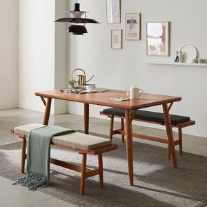 리치 4-6인용 식탁테이블 1500세트(벤치2개 포함)