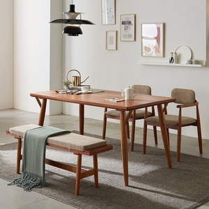 리치 4-6인용 식탁테이블 1500세트(의자 벤치포함)