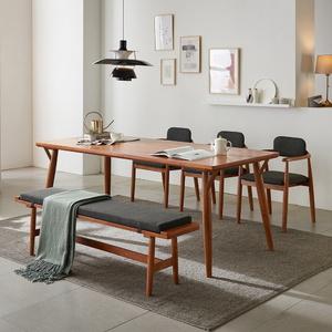 리치 6-8인용 식탁테이블 2000세트(의자 벤치포함)