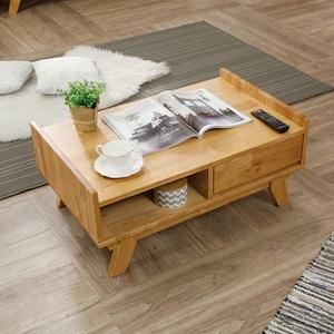 소나타 거실 쇼파 원목 테이블 (서랍형)