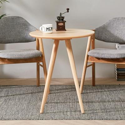 브라우니 2-4인 원형 식탁 티테이블