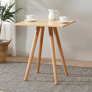 브라우니 2-4인 사각 식탁 티테이블
