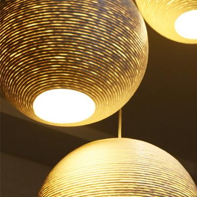 LED 페이퍼 볼 1등 펜던트