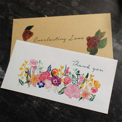 SEN 감사축하 봉투