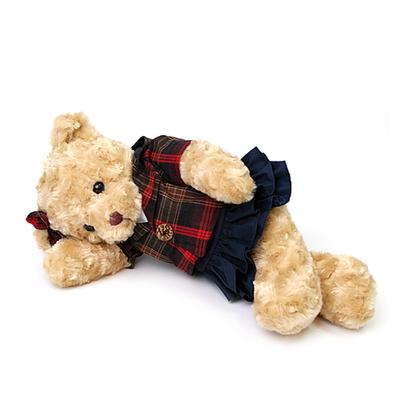 신체크후드 테디베어-여자곰(대형-브라운)