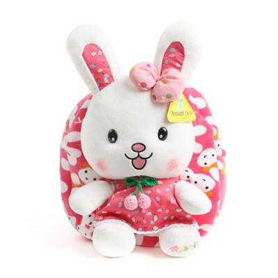 아망스 딸기바니가방 - 핑크
