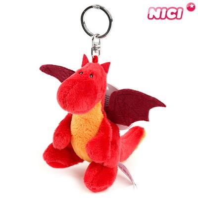 NICI 니키 파이어 레드 드래곤 키체인 10cm-40768
