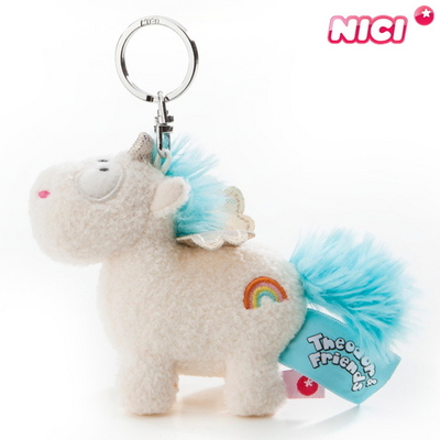 NICI 니키 유니콘 레인보우 플레어 키체인 10cm-40092
