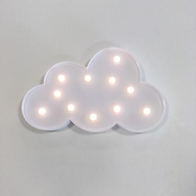 구름 램프 마퀴라이트조명