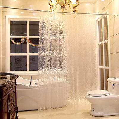 호텔 반투명 샤워커튼 180x180cm