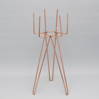 육각 화분 스탠드(L)-14.5(지름) x 40cm