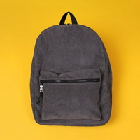 ALICE CORDUROY DAY PACK (CHARCOAL)