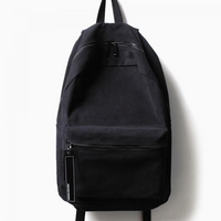 ALICE CANVAS DAY PACK (ALL BLACK)