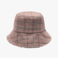 GLEN CHECK BUCKET (BROWN)