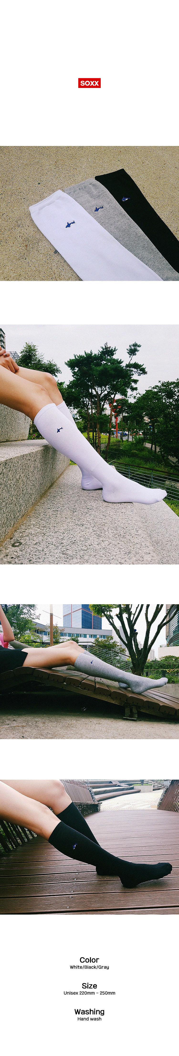 Dolphin Knee 3 color - 삭스신드롬, 6,000원, 여성양말, 패션양말