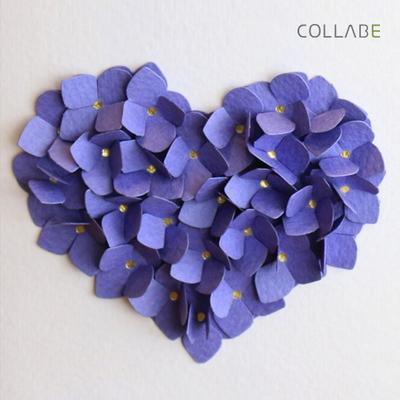 Hydrangea Purple Art-Card