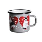 [Muurla]Moomin Heart enamel mug,gray 1705-025-39 머그