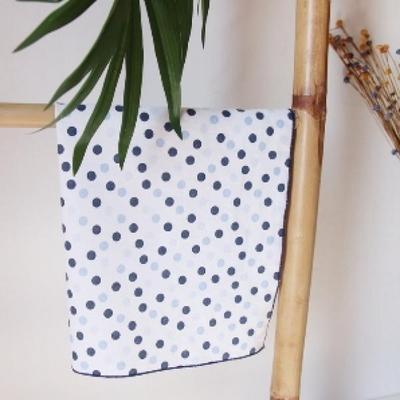 물방울 손수건 스카프 넥수건 2color