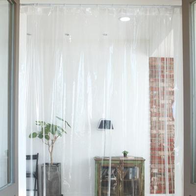 초음파작업 비말차단 방풍방한 투명 비닐커튼M (100x180cm)